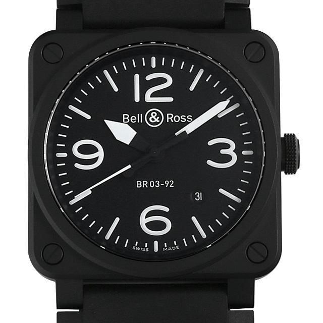 【48回払いまで無金利】ベル&ロス マットブラック セラミック BR03-92 メンズ(0064BOAN0003)【新品】【腕時計】【送料無料】【キャッシュレス5%還元】