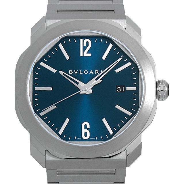 【48回払いまで無金利】ブルガリ オクト ローマ OC41C3SSD メンズ(0FHMBVAN0002)【新品】【腕時計】【送料無料】