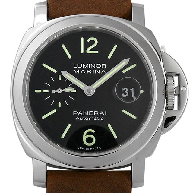 【48回払いまで無金利】パネライ ルミノールマリーナ オートマティック アッチャイオ PAM01104 メンズ(0FHMOPAN0014)【新品】【腕時計】【送料無料】