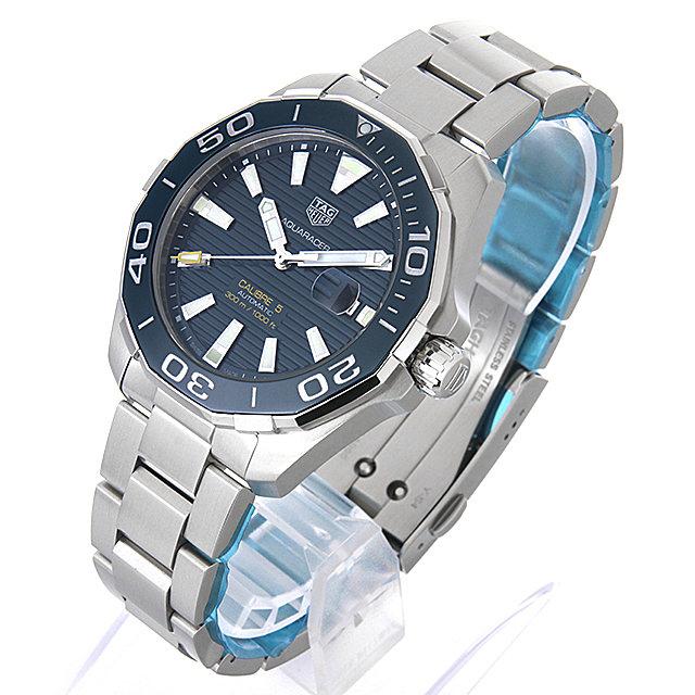 【48回払いまで無金利】タグホイヤー アクアレーサーキャリバー5 WAY201B.BA0927 メンズ(004UTHAN0564)【新品】【腕時計】