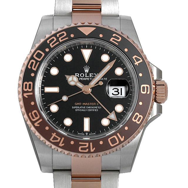 【48回払いまで無金利】ロレックス GMTマスターII 126711CHNR メンズ(080QROAS0001)【中古】【未使用】【腕時計】【送料無料】