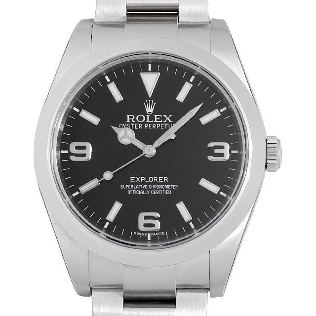 【48回払いまで無金利】ロレックス エクスプローラー 214270 メンズ(008KROAS0004)【中古】【未使用】【腕時計】【送料無料】