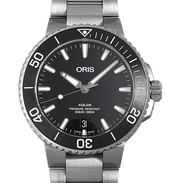 【48回払いまで無金利】オリス アクイス デイト 733 7732 4124M メンズ(006TOSAN0063)【新品】【腕時計】【送料無料】