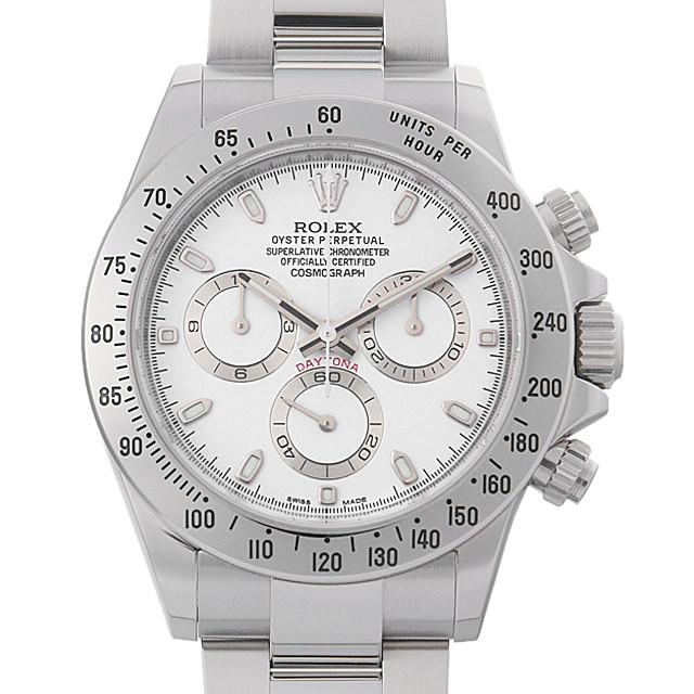 【48回払いまで無金利】ロレックス コスモグラフ デイトナ ランダムシリアル 116520 ホワイト 新クラスプ メンズ(0014ROAU0152)【中古】【腕時計】【送料無料】