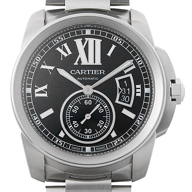 【48回払いまで無金利】カルティエ カリブル ドゥ カルティエ W7100016 メンズ(001HCAAU0109)【中古】【腕時計】【送料無料】