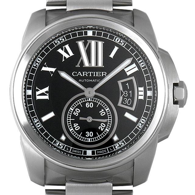 【48回払いまで無金利】カルティエ カリブル ドゥ カルティエ W7100016 メンズ(0050CAAU0031)【中古】【腕時計】【送料無料】