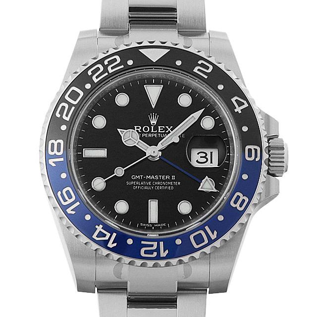 【48回払いまで無金利】ロレックス GMTマスターII 116710BLNR メンズ(0050ROAU0065)【中古】【腕時計】【送料無料】