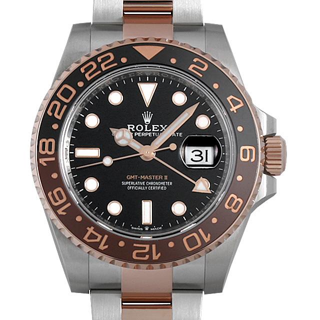 【48回払いまで無金利】ロレックス GMTマスターII 126711CHNR メンズ(0050ROAU0071)【中古】【腕時計】【送料無料】