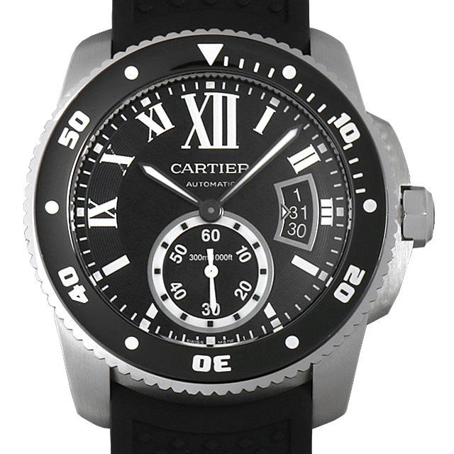 【48回払いまで無金利】カルティエ カリブル ドゥ カルティエ ダイバー W7100056 メンズ(0063CAAU0040)【中古】【腕時計】【送料無料】