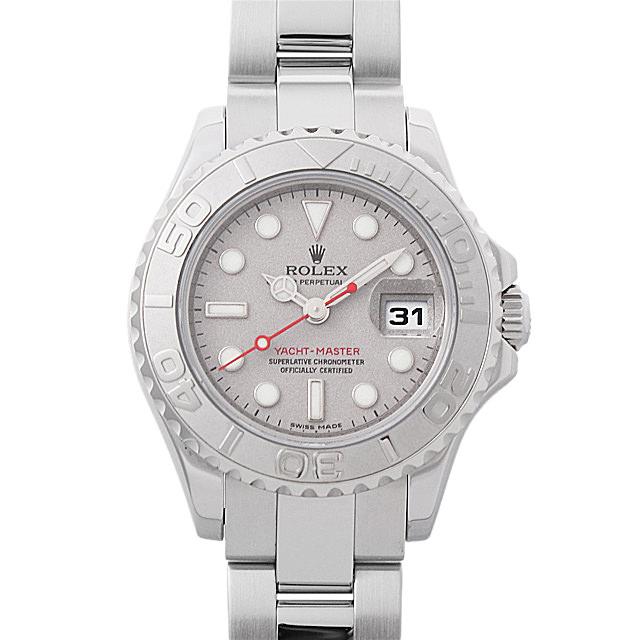 【48回払いまで無金利】ロレックス ヨットマスターロレジウム G番 169622 レディース(0063ROAU0246)【中古】【腕時計】【送料無料】