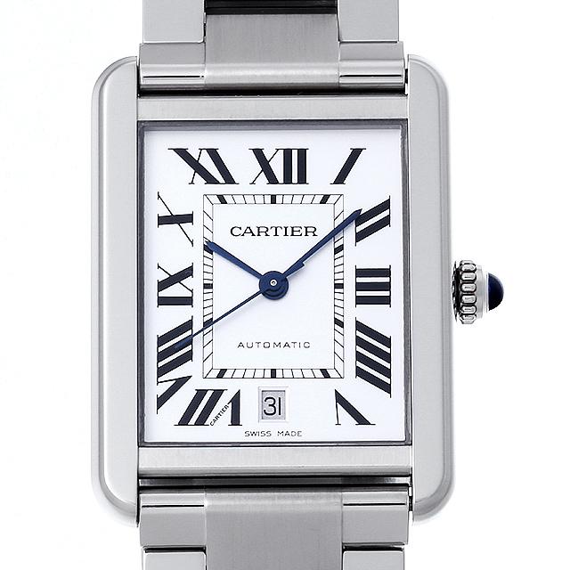 【48回払いまで無金利】カルティエ タンクソロ XL W5200028 メンズ(006TCAAU0011)【中古】【腕時計】【送料無料】