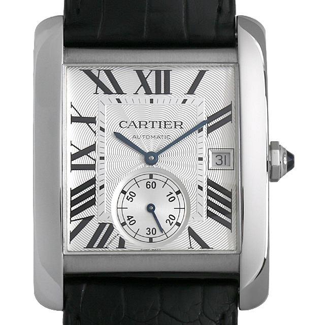 【48回払いまで無金利】カルティエ タンクMC W5330003 メンズ(006XCAAU0169)【中古】【腕時計】【送料無料】