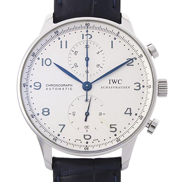 【48回払いまで無金利】IWC ポルトギーゼ クロノグラフ IW371417 メンズ(006XIWAU0112)【中古】【腕時計】【送料無料】