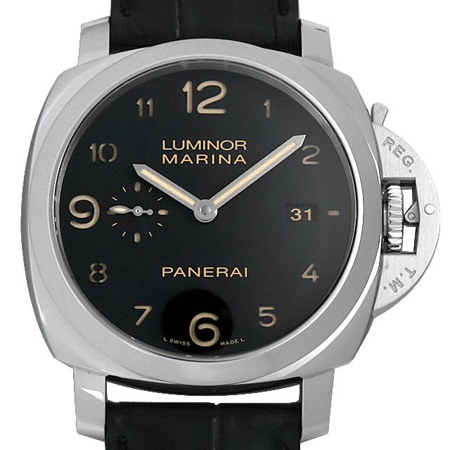 【48回払いまで無金利】パネライ ルミノールマリーナ 1950 3DAYS R番 PAM00359 メンズ(006XOPAU0141)【中古】【腕時計】【送料無料】