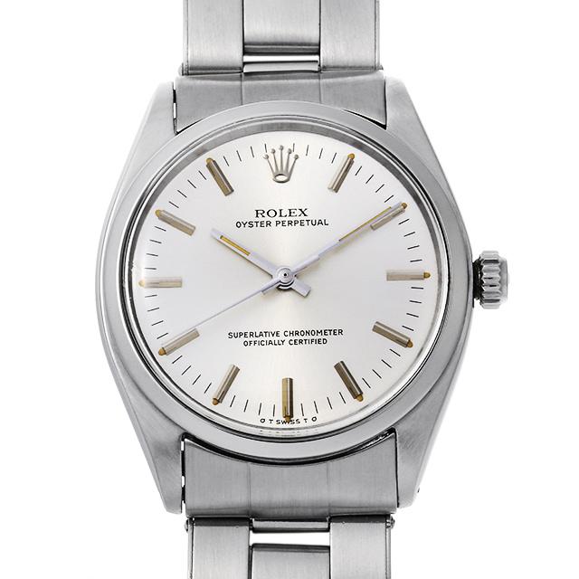 【48回払いまで無金利】ロレックス オイスターパーペチュアル Cal.1560 1002 シルバー/シグマダイアル メンズ(006XROAA0113)【アンティーク】【腕時計】【送料無料】