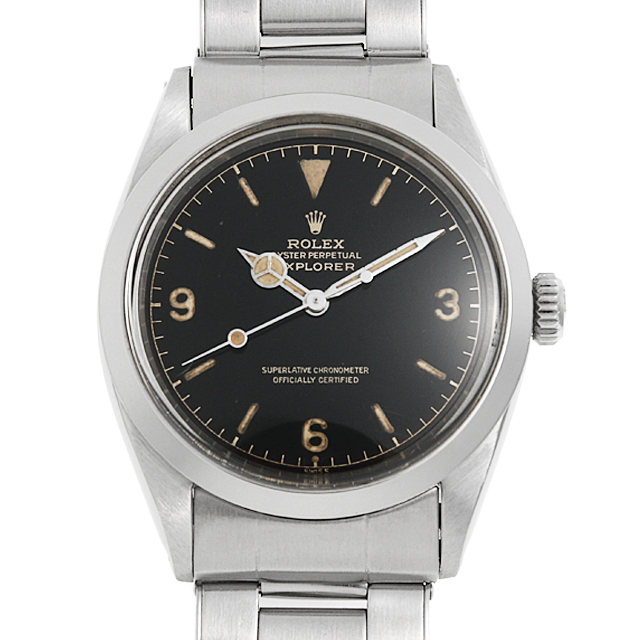 【48回払いまで無金利】ロレックス エクスプローラーI 1016 MMダイアル 6ドット メンズ(006XROAA0115)【アンティーク】【腕時計】【送料無料】