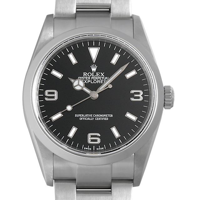 ロレックス エクスプローラーI Z番 114270 メンズ(006XROAU0791)【中古】【腕時計】【送料無料】
