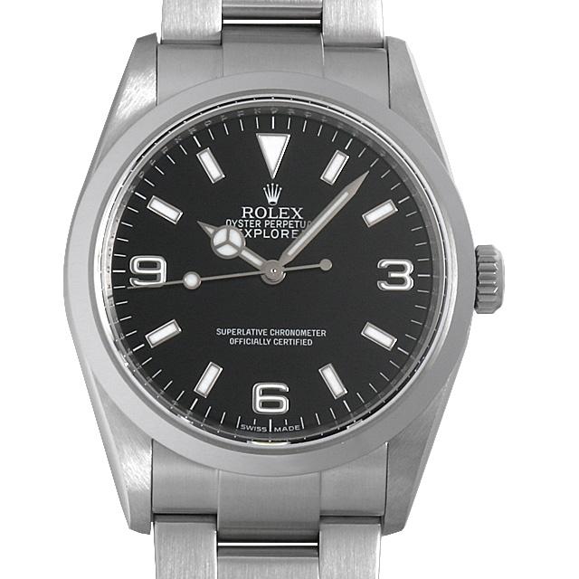 【48回払いまで無金利】ロレックス エクスプローラーI V番 114270 メンズ(006XROAU0795)【中古】【腕時計】【送料無料】