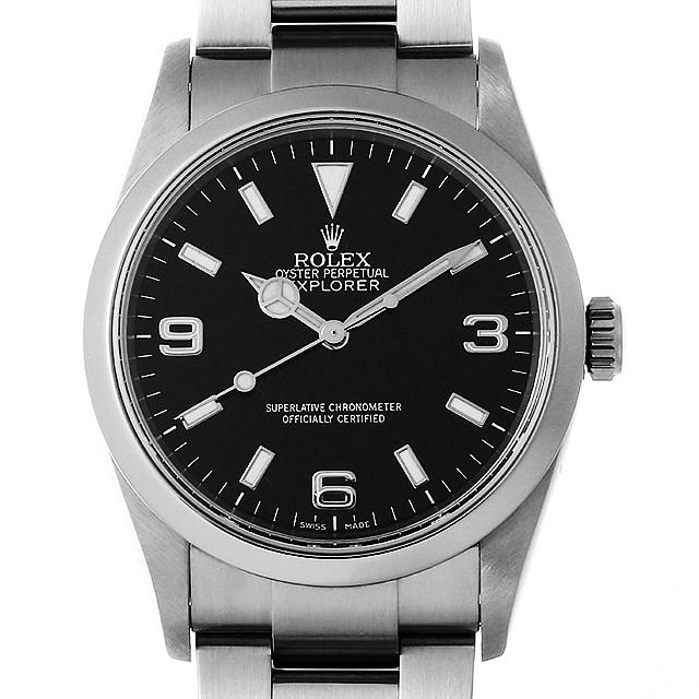 【48回払いまで無金利】ロレックス エクスプローラーI Z番 114270 メンズ(006XROAU0800)【中古】【腕時計】【送料無料】