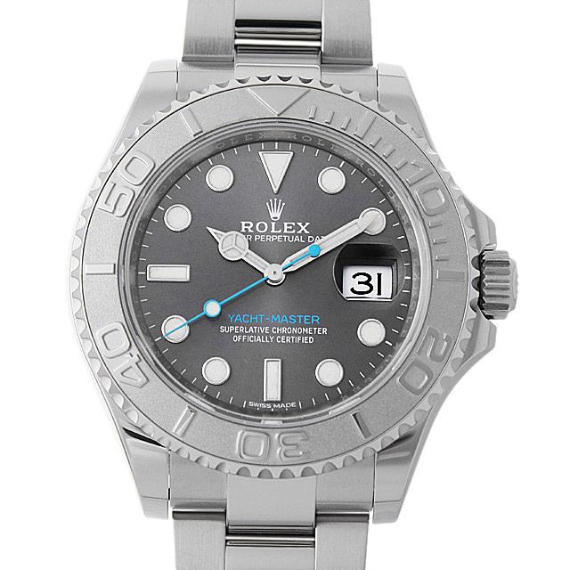 【48回払いまで無金利】ロレックス ヨットマスター ロレジウム ランダムシリアル 116622 ダークロジウム メンズ(006XROAU0805)【中古】【腕時計】【送料無料】