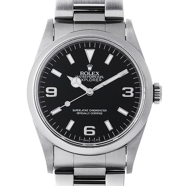 【48回払いまで無金利】ロレックス エクスプローラーI T番 14270 メンズ(006XROAU0809)【中古】【腕時計】【送料無料】