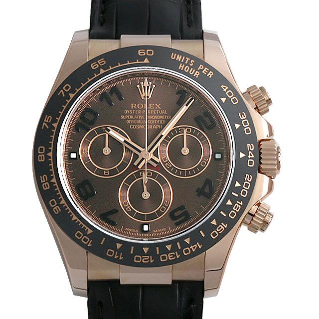 【48回払いまで無金利】ロレックス コスモグラフ デイトナ ランダムシリアル 116515LN ブラウン/アラビア メンズ(006XROAU0839)【中古】【腕時計】【送料無料】