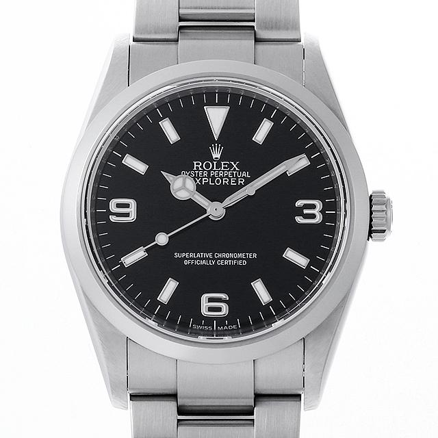 【48回払いまで無金利】ロレックス エクスプローラーI V番 114270 メンズ(006XROAU0869)【中古】【腕時計】【送料無料】