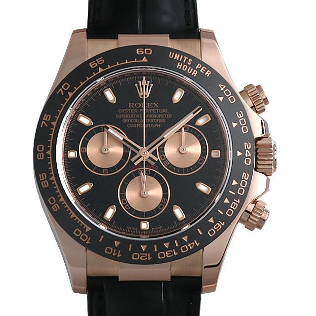 【48回払いまで無金利】ロレックス コスモグラフ デイトナ ランダムシリアル 116515LN ブラック メンズ(006XROAU0873)【中古】【腕時計】【送料無料】