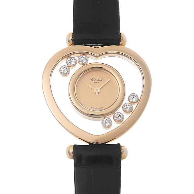 【48回払いまで無金利】ショパール ハッピーダイヤモンド 20/4612 レディース(007UCPAU0028)【中古】【腕時計】【送料無料】