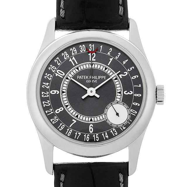 【48回払いまで無金利】パテックフィリップ カラトラバ Cal 240PSC 6000G-010 メンズ(007UPPAU0108)【中古】【腕時計】【送料無料】