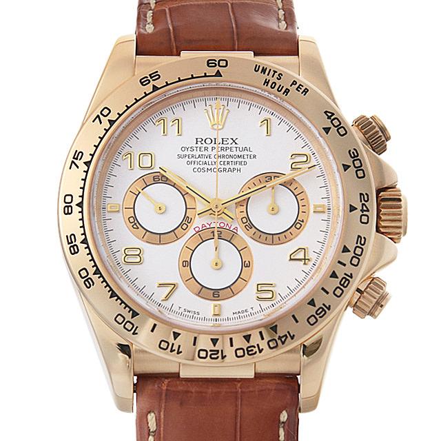 【48回払いまで無金利】ロレックス コスモグラフ デイトナ A番 16518 ホワイト メンズ(007UROAU0353)【中古】【腕時計】【送料無料】