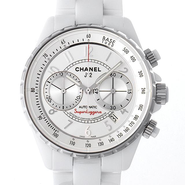 【48回払いまで無金利】シャネル J12 スーパーレッジェーラ H3410 メンズ(0087CHAU0011)【中古】【腕時計】【送料無料】