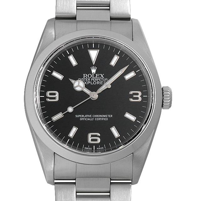 【48回払いまで無金利】ロレックス エクスプローラーI P番 14270 メンズ(008WROAU0238)【中古】【腕時計】【送料無料】