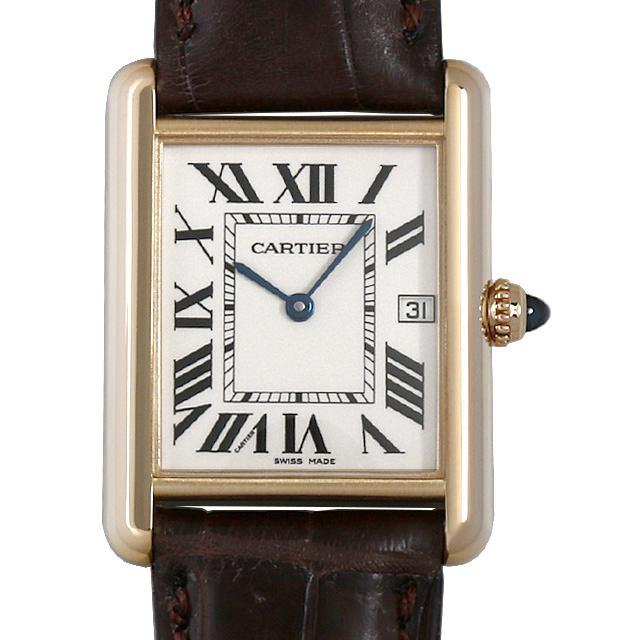 【48回払いまで無金利】カルティエ タンク ルイ カルティエ LM W1529756 メンズ(009MCAAU0025)【中古】【腕時計】【送料無料】