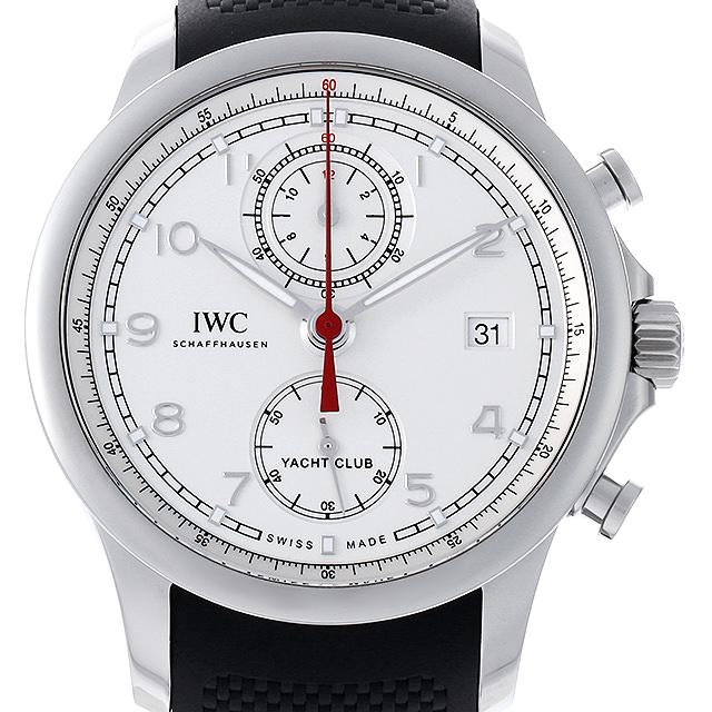 【48回払いまで無金利】IWC ポルトギーゼ ヨットクラブ クロノグラフ IW390502 メンズ(009VIWAU0058)【中古】【腕時計】【送料無料】
