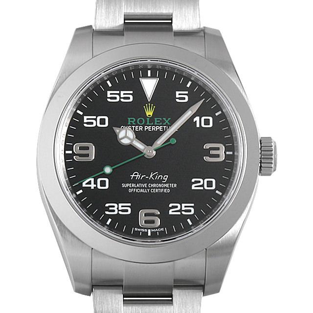 【48回払いまで無金利】ロレックス エアキング 116900 メンズ(009VROAU0235)【中古】【腕時計】【送料無料】