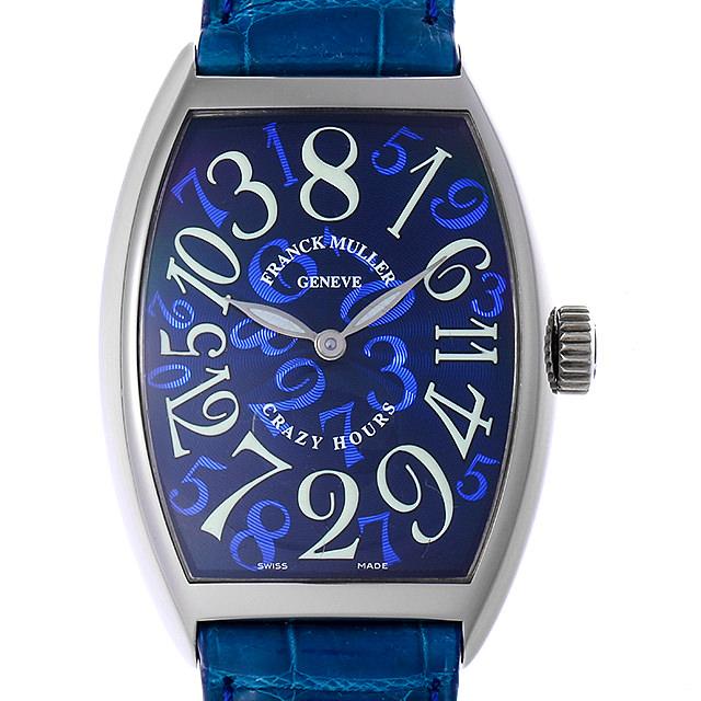 【48回払いまで無金利】フランクミュラー トノーカーベックス クレイジーアワーズ 7851CH OG メンズ(03DNFRAU0001)【中古】【腕時計】【送料無料】