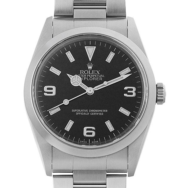 【48回払いまで無金利】ロレックス エクスプローラーI A番 14270 メンズ(08WLROAU0001)【中古】【腕時計】【送料無料】