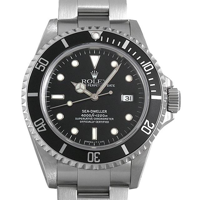 【48回払いまで無金利】ロレックス シードゥエラー U番 16600 メンズ(08WLROAU0002)【中古】【腕時計】【送料無料】