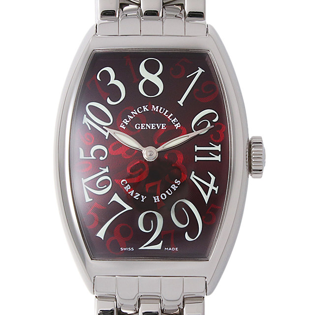 【48回払いまで無金利】フランクミュラー クレイジーアワーズ 5850CH OAC メンズ(0A89FRAU0010)【中古】【腕時計】【送料無料】
