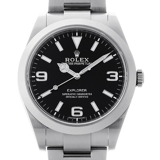 【48回払いまで無金利】ロレックス エクスプローラー 214270 最新型 メンズ(0A89ROAU0091)【中古】【腕時計】【送料無料】