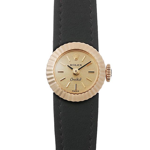 【48回払いまで無金利】ロレックス カメレオン オーキッド 35番 2059 レディース(0BCCROAA0015)【アンティーク】【腕時計】【送料無料】