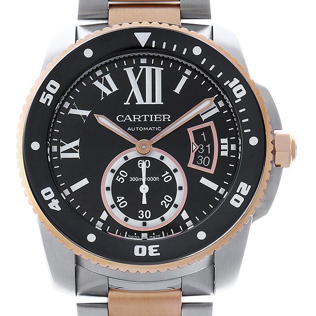 【48回払いまで無金利】カルティエ カリブル ドゥ カルティエ ダイバー W7100054 メンズ(0IEECAAU0001)【中古】【腕時計】【送料無料】