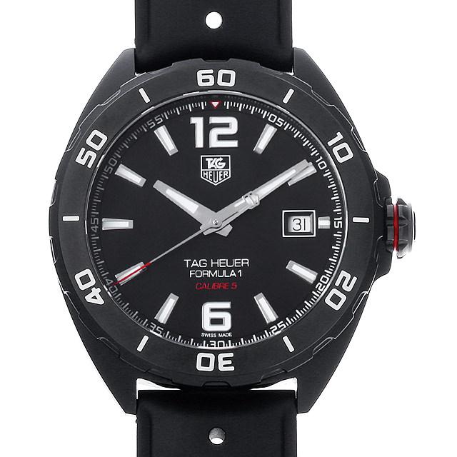 【48回払いまで無金利】タグホイヤー フォーミュラ1 フルブラック WAZ2115.FT8023 メンズ(0IIPTHAU0001)【中古】【腕時計】【送料無料】