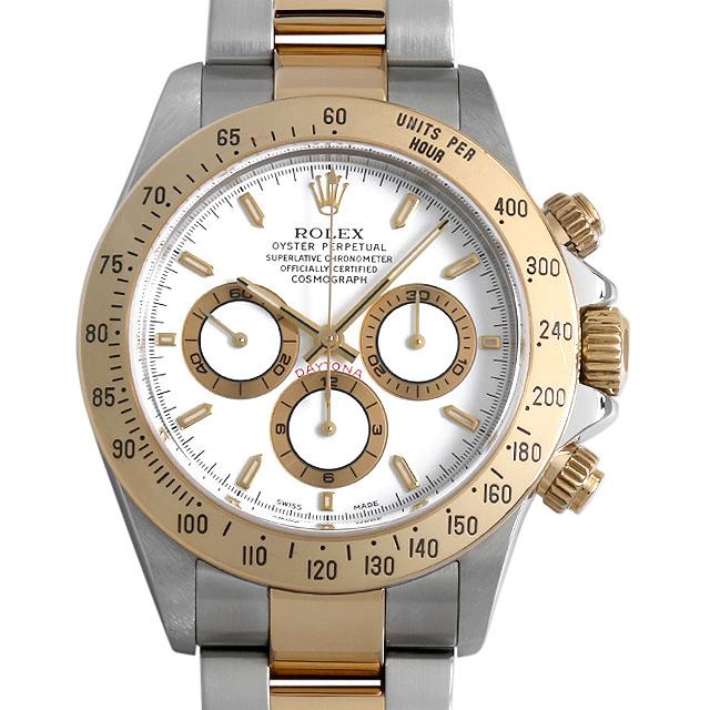 【48回払いまで無金利】ロレックス コスモグラフ デイトナ A番 16523 ホワイト メンズ(0INVROAU0001)【中古】【腕時計】【送料無料】