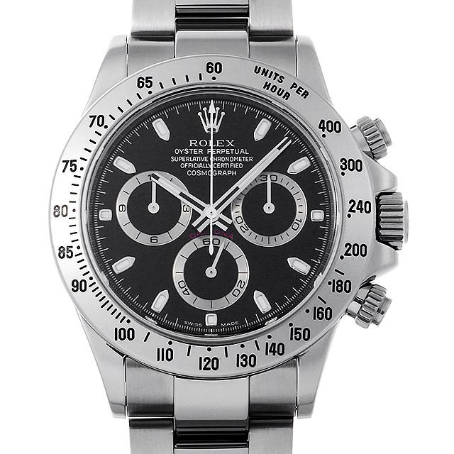 【48回払いまで無金利】ロレックス コスモグラフ デイトナ D番 116520 ブラック メンズ(0IP8ROAU0001)【中古】【腕時計】【送料無料】