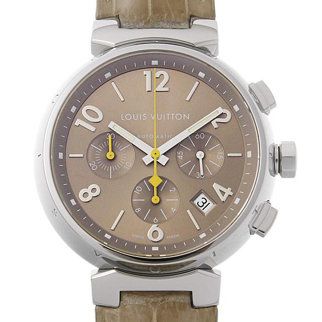【48回払いまで無金利】ルイヴィトン タンブール クロノ Q1122 メンズ(0ITRLVAU0001)【中古】【腕時計】【送料無料】