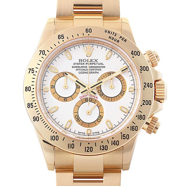 【48回払いまで無金利】ロレックス コスモグラフ デイトナ M番 116528 ホワイト メンズ(0ITRROAU0001)【中古】【腕時計】【送料無料】