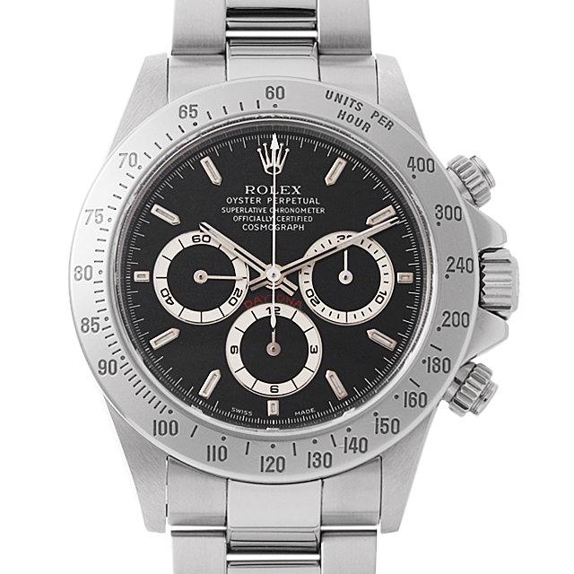 【48回払いまで無金利】ロレックス コスモグラフ デイトナ A番 16520 ブラック メンズ(0IY2ROAU0001)【中古】【腕時計】【送料無料】