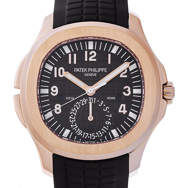 【48回払いまで無金利】パテックフィリップ アクアノート トラベルタイム 5164R-001 メンズ(0J1XPPAU0002)【中古】【腕時計】【送料無料】